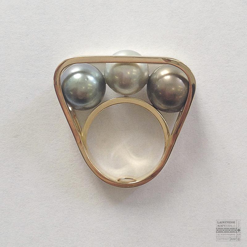 sur-mesure - bague - perles