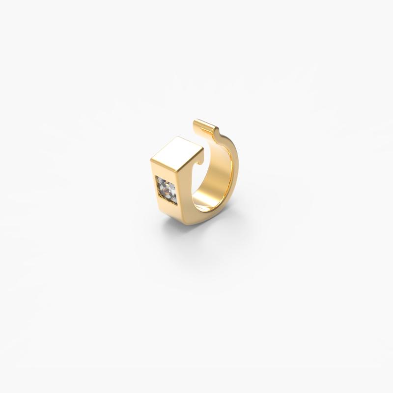 Sparkle ring - piercing -Top Collection Modesty LA DUCHESSE AUX PIEDS NUS