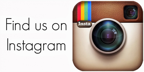 find us on istagram