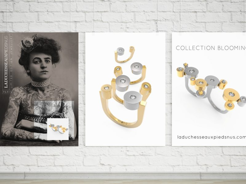 Blooming la nouvelle collection de LA DUCHESSE AUX PIEDS NUS