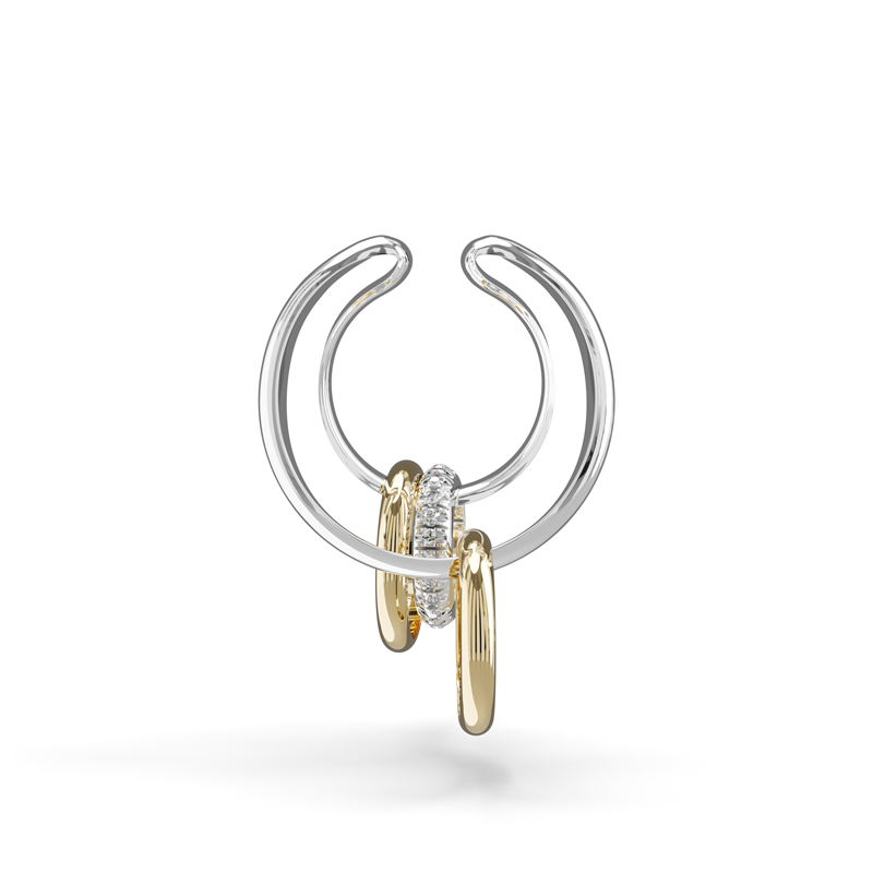 Earcuff ANGELO Collection TRIO or 18K